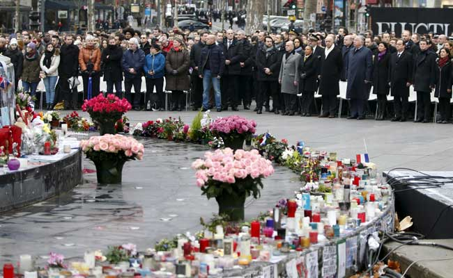 France Pays Tribute To Charlie Hebdo Attack Victims In Silent Ceremony
