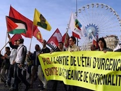 French Protesters Call For End To State Of Emergency