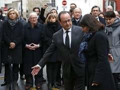 French President Honors Charlie Hebdo, Kosher Market Victims