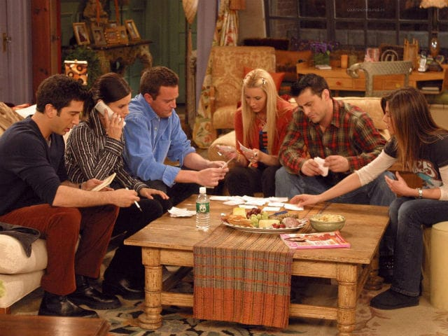 Some Reunion. This F.R.I.E.N.D Has Already Dropped Out