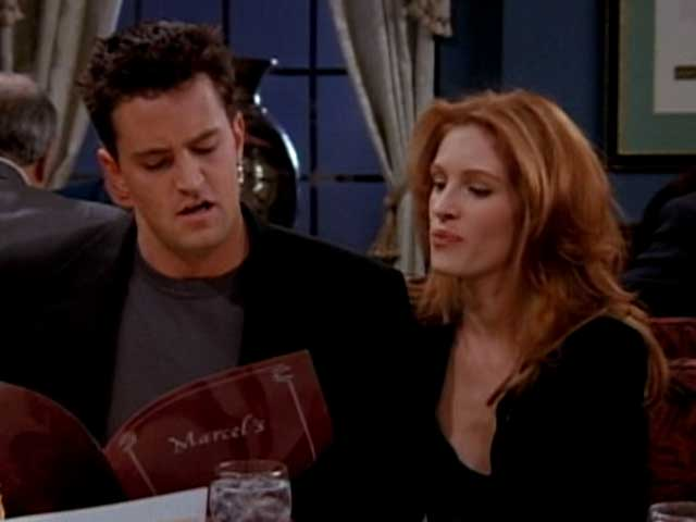 Chandler Bing, Your 20 Years Are up. Time to Call Julia Roberts