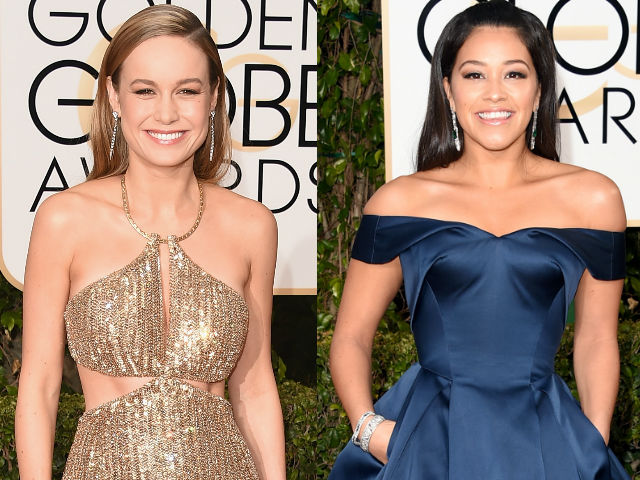 Golden Globes: Glamour, Bling and Cleavage on the Red Carpet