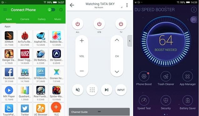 Gionee Marathon M5 apps ndtv