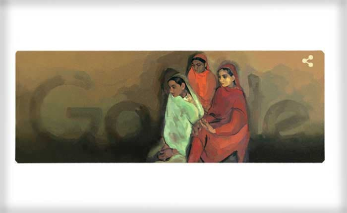 Google's Tribute To Acclaimed Artist Amrita Sher-Gil On Her 103rd Birthday
