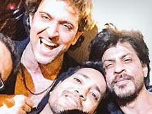Inside Pics: Hrithik's Birthday Party With Shah Rukh, Ranveer