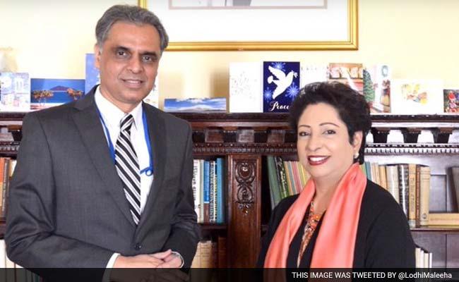 India's New UN Envoy Meets His Pakistani Counterpart