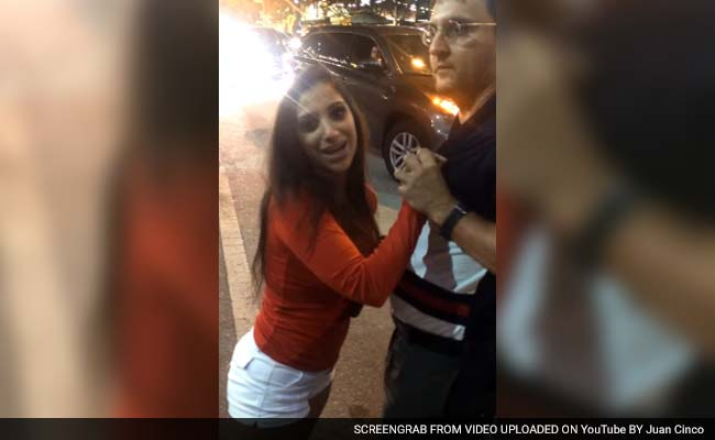 Video Shows Indian-Origin Woman Assaulting Uber Driver