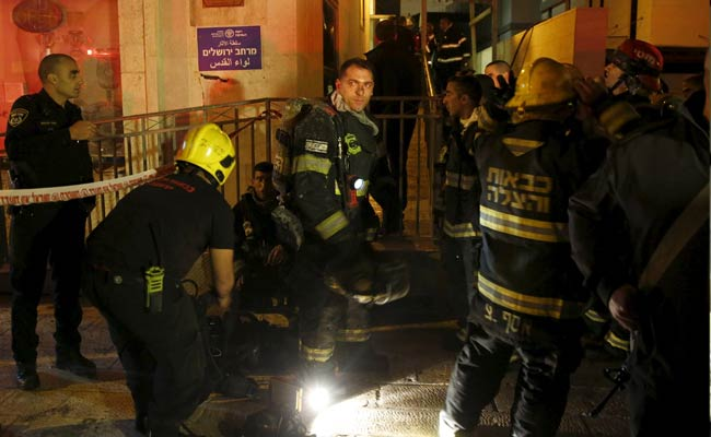 Fire Breaks Out At Offices Of Israeli Rights Group: Police