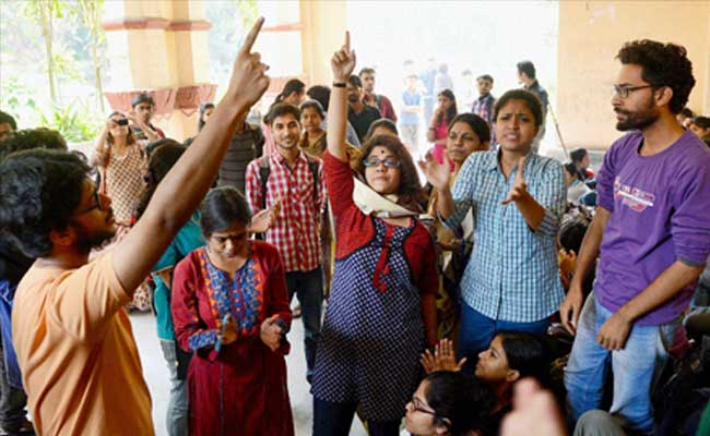 Students Protest At Jadavpur University Enters Third Day