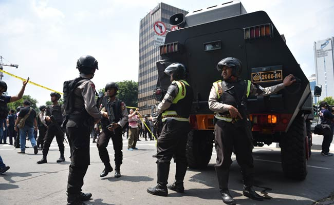 Blast in Indonesian capital