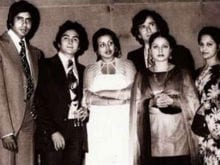 40 Years After <I>Kabhi Kabhie</i>, Rishi Kapoor Shares Pics and Memories