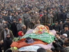 Large Crowds At Terrorist Funerals Worry Security Forces In Kashmir