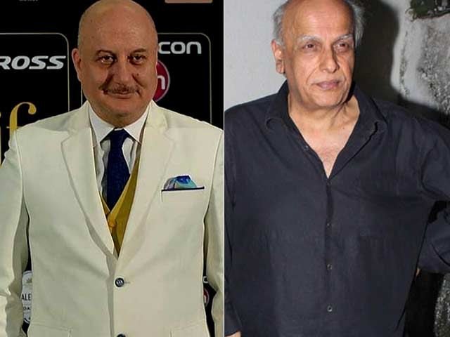 Anupam Kher's Gurudakshina For Mahesh Bhatt is This