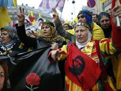 Thousands of Kurds Protest in Paris Over Murders of Female Rebels
