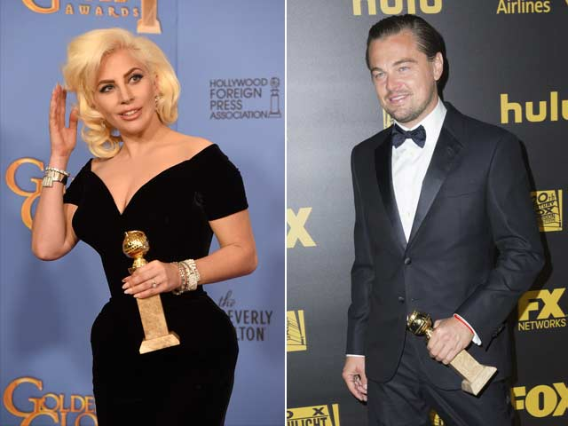 Leonardo DiCaprio Apologised to Lady Gaga For Globes Eyeroll. All Well Now