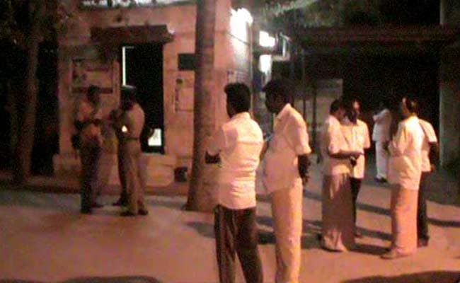 Madurai: Crude Bombs Hurled At Offices of AIADMK, Tamil Nadu Minister