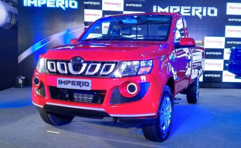 new car launches by mahindraMahindra Imperio Launched Price in India Starts at Rs 625 lakh