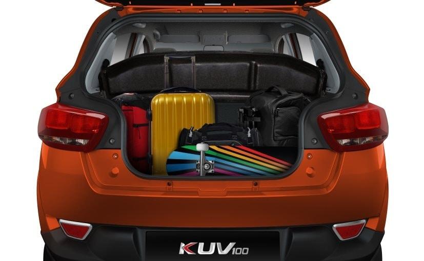 Mahindra KUV100 Bootspace