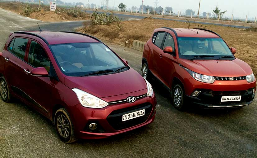 Mahindra KUV vs Hyundai Grand i10