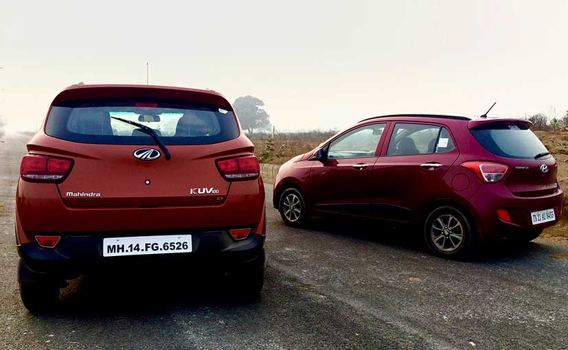 Mahindra KUV100 vs Hyundai Grand i10