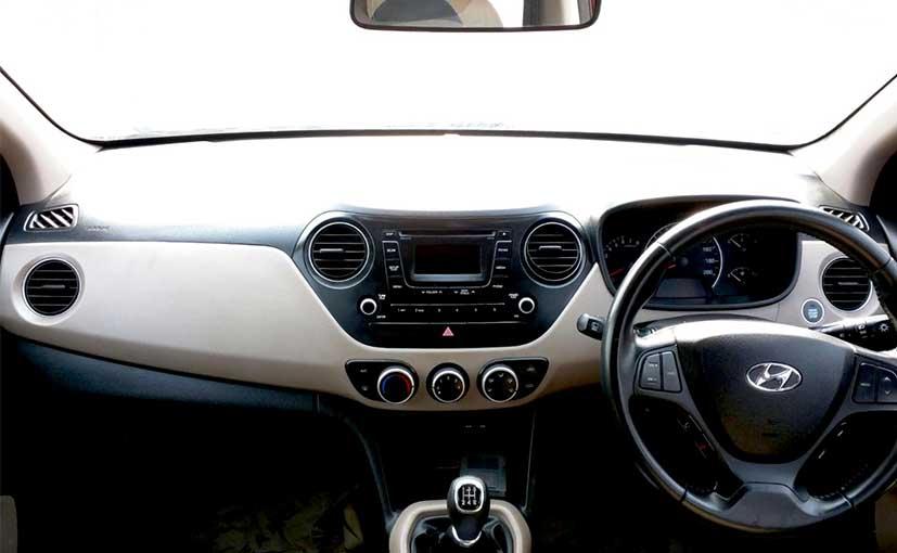 Hyundai Grand i10 cabin