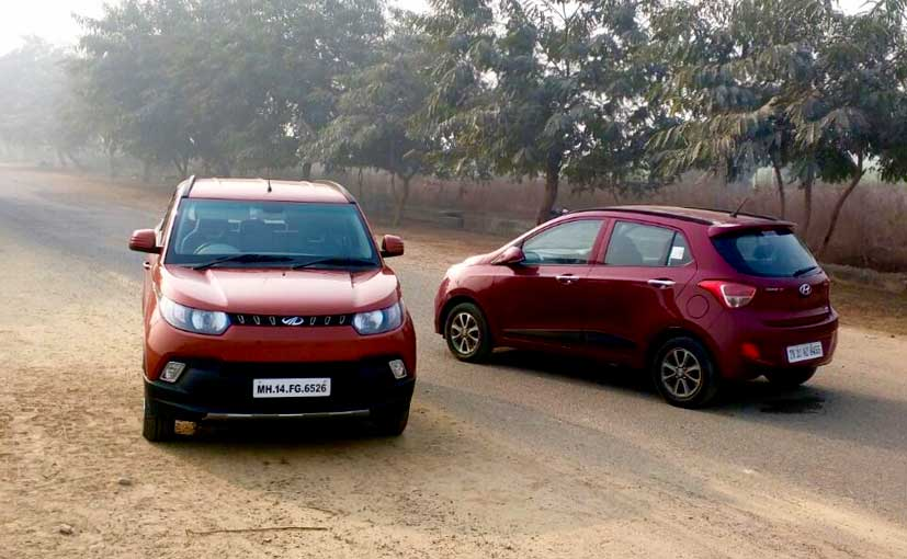 Comparison: Mahindra KUV100 vs Hyundai Grand i10