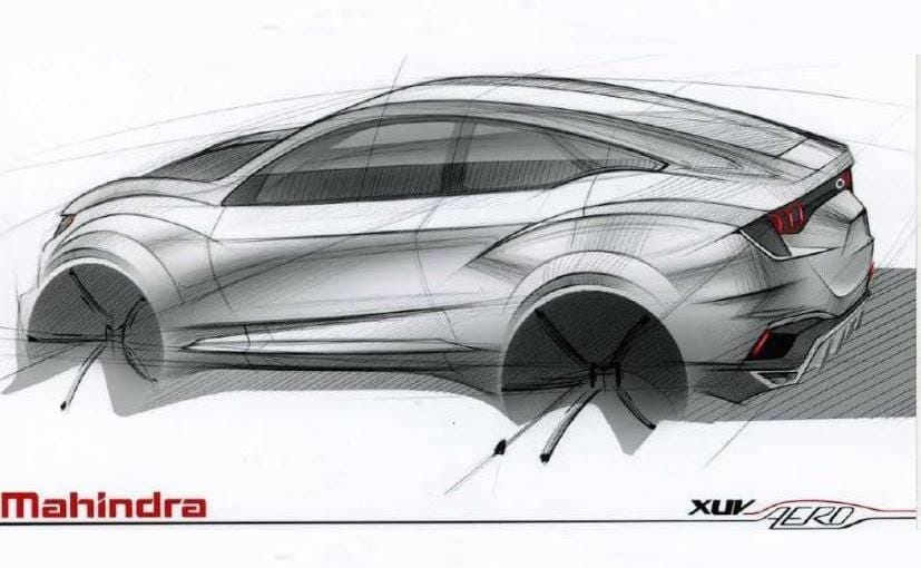 Mahindra Xuv Aero Coupe Suv Teased To Be Showcased At Auto Expo