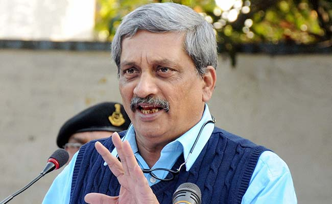 'Those Who Harmed Us Will Feel The Pain': Manohar Parrikar On Pathankot Attack