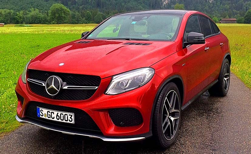 Mercedes Benz Gle Coupe 450 Amg Review Ndtv Carandbike