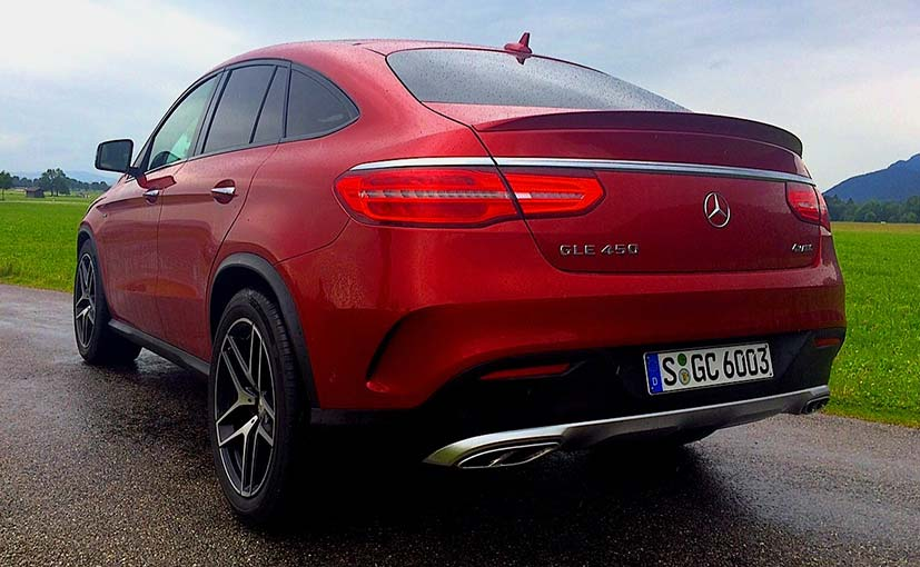 Mercedes benz gle coupe 450 amg review ndtv carandbike for How much is a new mercedes benz