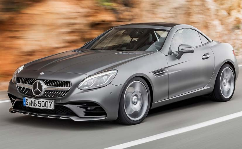 Mercedes Amg Slc 43 Launched At 77 50 Lakh