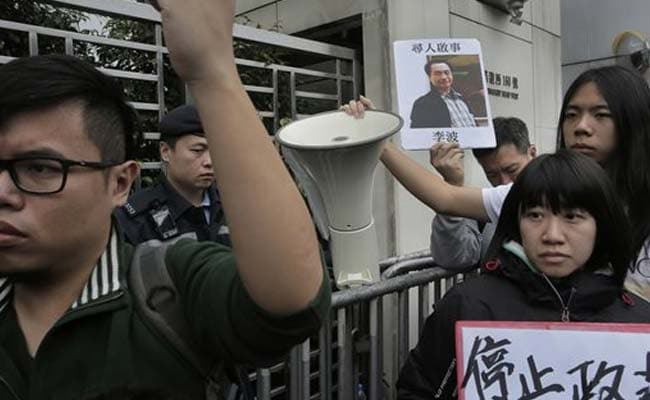 Hong Kong Protesters Call For Release Of Missing Booksellers