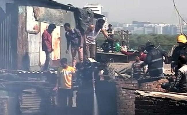 Fire Breaks Out In Mumbai's Mahim Area, No Casualties