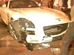 Speeding Mercedes Hits People Sleeping On Mumbai Pavement, 5 Injured