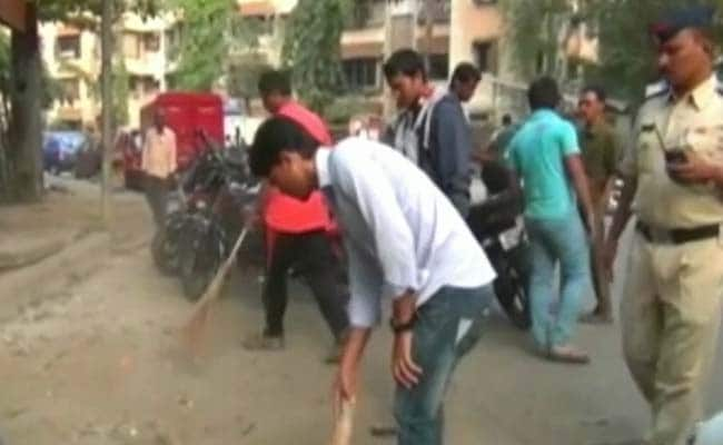 For Molesting Woman, Men Told To Sweep Streets For 6 Months