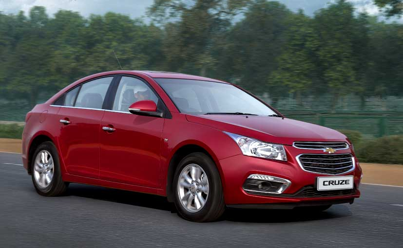 2016 Chevrolet Cruze Prices Slashed By Upto Rs 86 000 Ndtv Carandbike