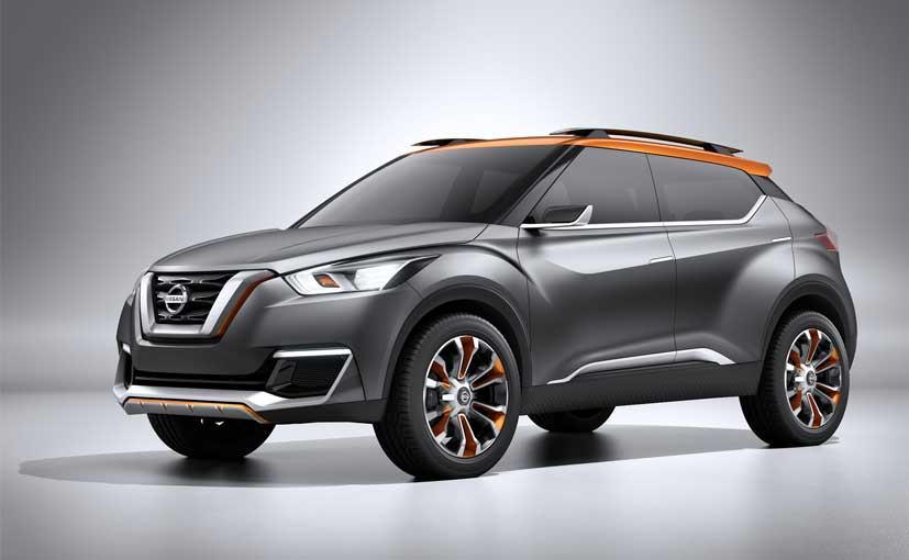 Nissan Confirms Production of Kicks Compact Crossover