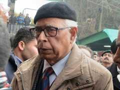 जम्मू-कश्मीर के राज्यपाल एनएन वोहरा ने बुलाई सर्वदलीय बैठक, घाटी के हालात करेंगे चर्चा
