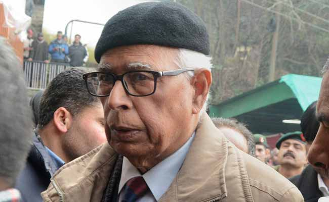 Governor Asks PDP, BJP To Make Stand Clear On Government Formation
