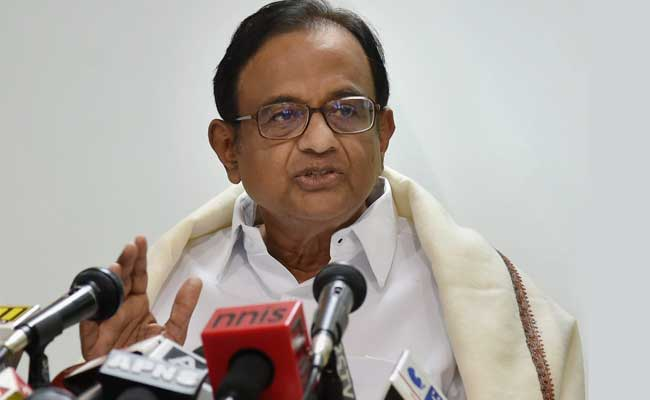 Sued By Firm For 10,000 Crores, P Chidambaram Seeks Documents Of Lawsuit