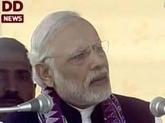 PM Modi Attacks Congress Over 'Lack Of Development' In Assam