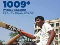 पारी में 1000 रन बनाने वाले प्रणव धनवाड़े को एयर इंडिया क्रिकेट टीम में जगह की पेशकश