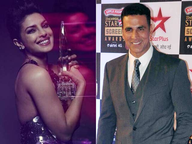 Akshay Kumar Says Priyanka Chopra 'Deserves' the People's Choice Award
