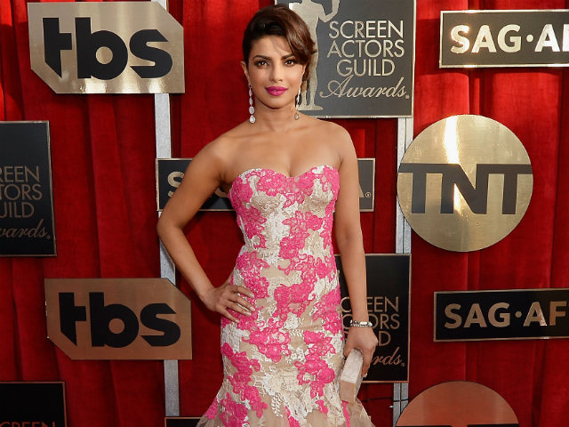 Priyanka Chopra Adds Heat and Glamour to the SAG Awards Red Carpet