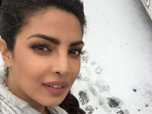 Priyanka Chopra, 'Frozen to Bones,' Films Quantico in Minus 25 Degrees