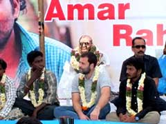 Rahul Gandhi At Dalit Conclave: The Government Killed Rohith Vemula