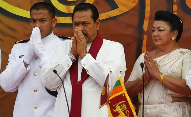 Sri Lanka's Rajapaksa to step down from disputed prime minister position