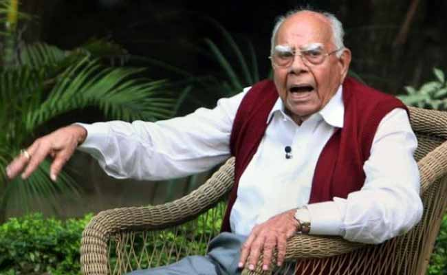 Ram Jethmalani Calls For Mamata Banerjee-Led Third Front To 'Oust' BJP