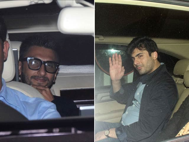Ranveer Singh is Still Dubsmashing Bajirao. Fawad Khan is Helping Him