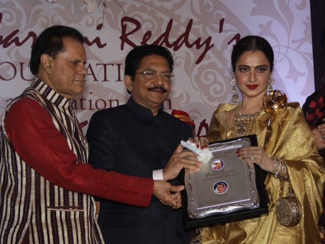 Rekha Receives Yash Chopra Memorial Award